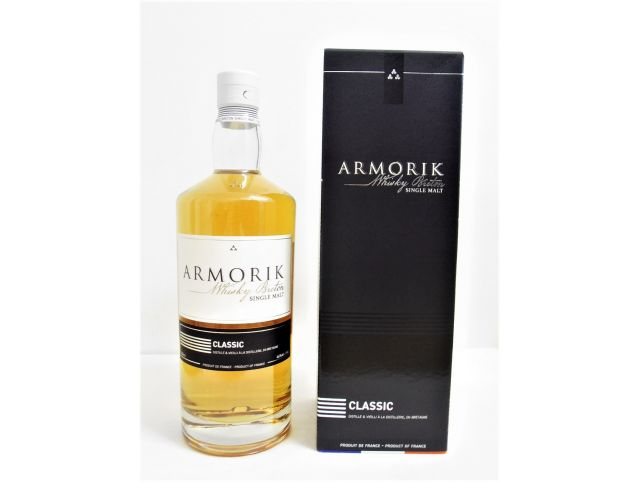 Whisky Armorik Classic Single Malt - Distillerie Warenghem