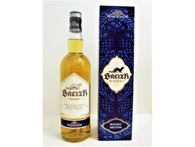 Breizh Whisky blended - Distillerie Warenghem