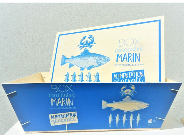 "Bourriche PM ""Box Concentré Marin"""