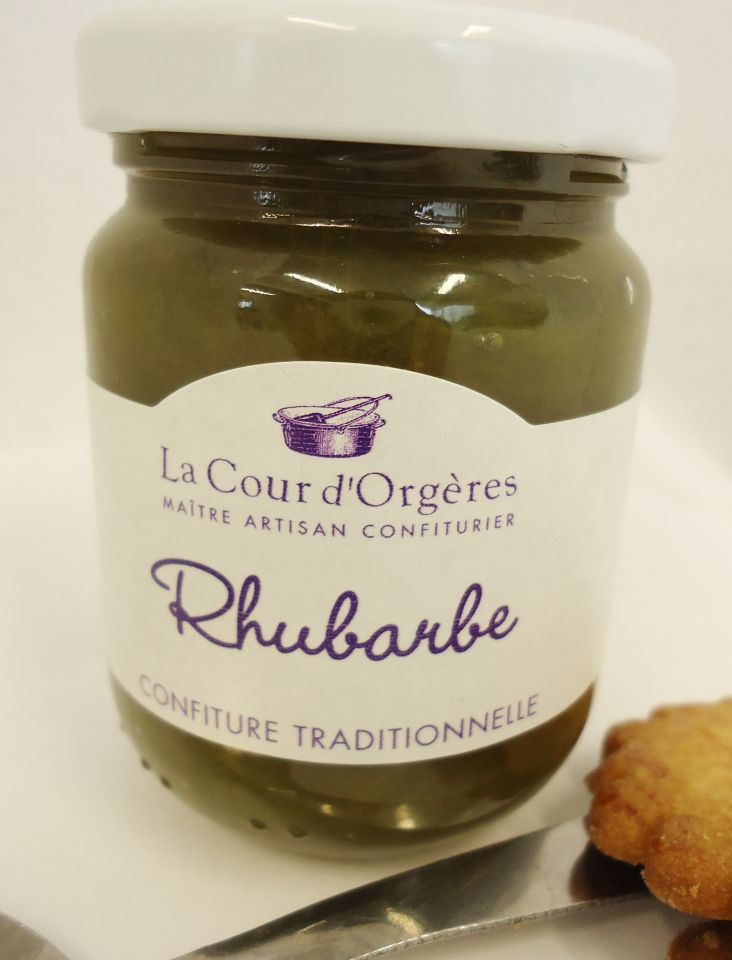 confiture de rhubarbe traditionnelle